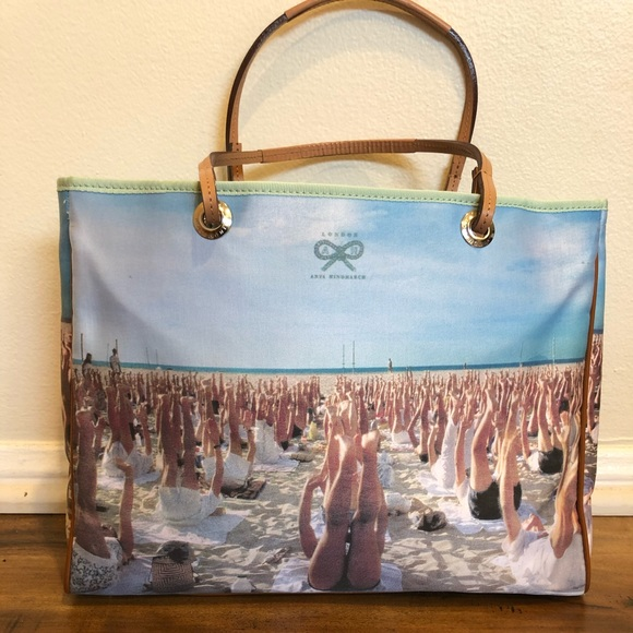 Anya Hindmarch Handbags - Anya Hindmarch blue label handbag